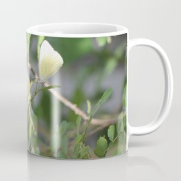 Pair of Great Southern White butterflies Coffee Mug