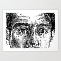 ali Art Prints featuring Ali by hitit