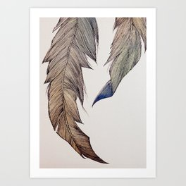 """Your wings already exist. All you have to do is fly."" Art Print"