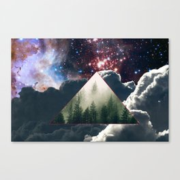 The dagger dug in your back. Canvas Print