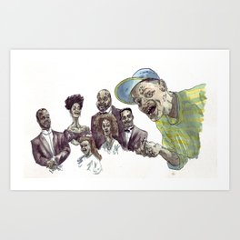 The fresh dead of Bel-Air Art Print