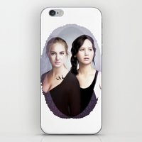 divergent iPhone & iPod Skins featuring The Divergent Games by Clara J Aira