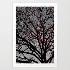 Veins of Life Art Print