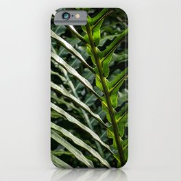 Forest Floor Frond iPhone Case