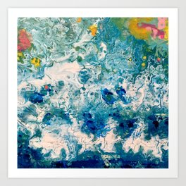 Ocean Art - The Sound of Water Art Print