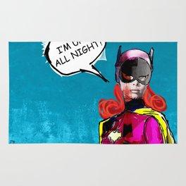 Batgirl Rug