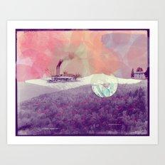 Basye River Poetry Art Print