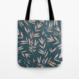 Colorful Foliage Pattern Tote Bag
