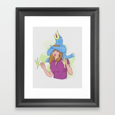 Birds and Birds 2 Framed Art Print