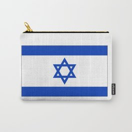 israeli flag Carry-All Pouch