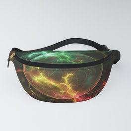 Carniverous Cape Sundew Tentacles in an Ecosphere Fanny Pack
