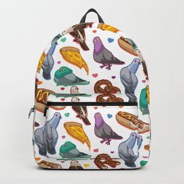 Pigeon Party Backpack