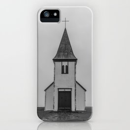 Old Church in Iceland iPhone Case