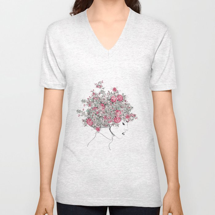 Catherine Unisex V-Neck