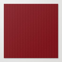 Fuck You - Pin Stripe - conor mcgregor Red Canvas Print