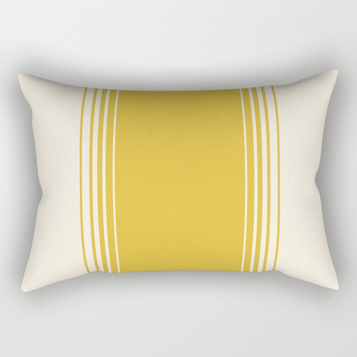 Marigold & Crème Vertical Gradient Rectangular Pillow