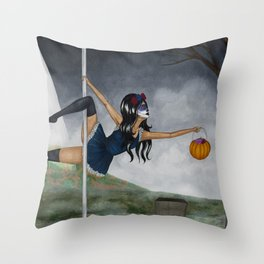 October 2017 Throw Pillow