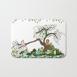 Jungle Monkey Bath Mat