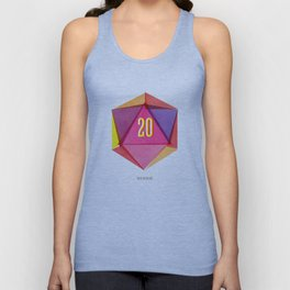 Rolling D20's Like A Big Shot  Unisex Tank Top