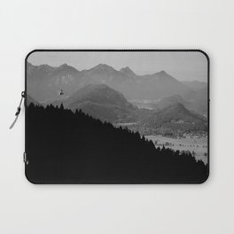 Grey mountains Laptop Sleeve