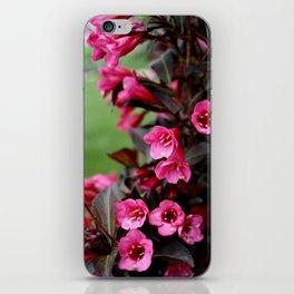 flower bells. iPhone Skin