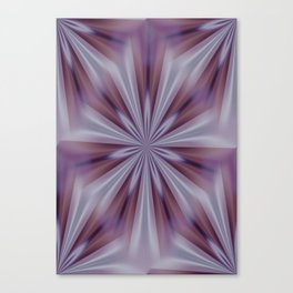 Aubergine Abstraction  Canvas Print