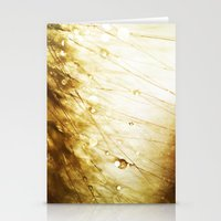 champagne Stationery Cards featuring Champagne by Rosemary Danielis