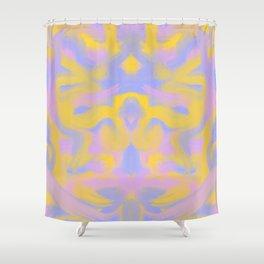 Tie dye butterfly Shower Curtain