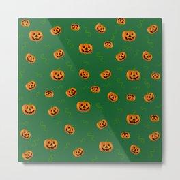 Pumpkin extravaganza III Metal Print