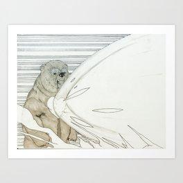 Carebear Stare Art Print