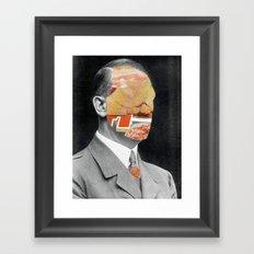 Meat historical assholes 2 Framed Art Print
