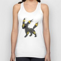 the moon Tank Tops featuring Moon by Melissa Smith