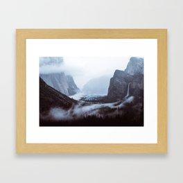 Yosemite Valley Mist Framed Art Print