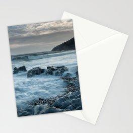 Blue hour at Bracelet Bay Stationery Cards