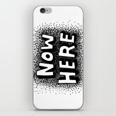 Now Here iPhone & iPod Skin