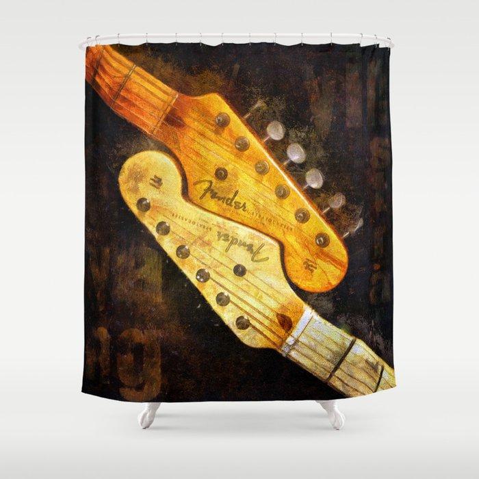YinYang Strat Shower Curtain