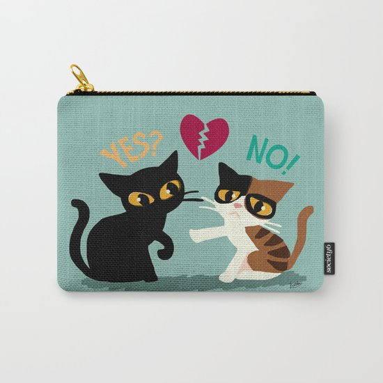 Yes or No Carry-All Pouch