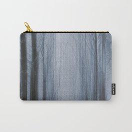 In a Winter Woodland Carry-All Pouch