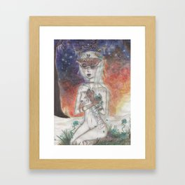 All the Delicate Things Framed Art Print
