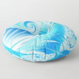 Frozen Vortex Floor Pillow
