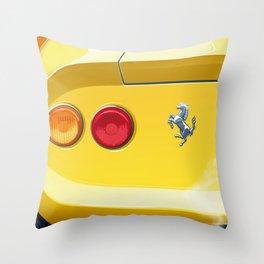 Ferrari Dino 246GT from 1970 Throw Pillow