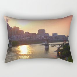Nashville Dusk Rectangular Pillow