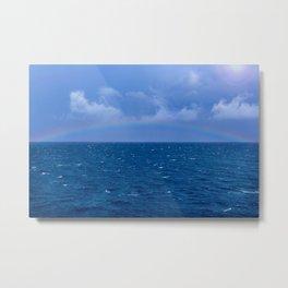I Sea Rainbows Metal Print