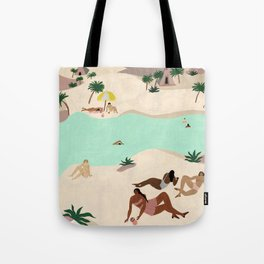 River in the Desert Tote Bag