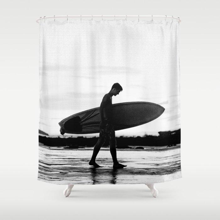 Surf Boy Shower Curtain