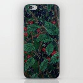Blackberry Bonanza iPhone Skin
