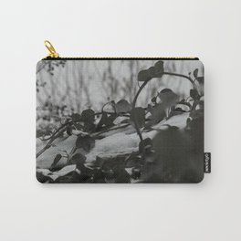 Snow covered ivy Carry-All Pouch