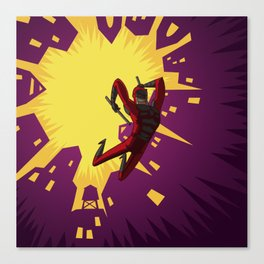 Daredevil Jump Canvas Print