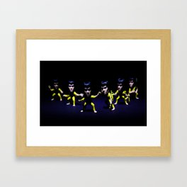 Kung Fu Fighter.  Framed Art Print
