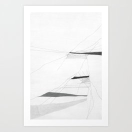 Faults Not in our Stars Drawing Art Print